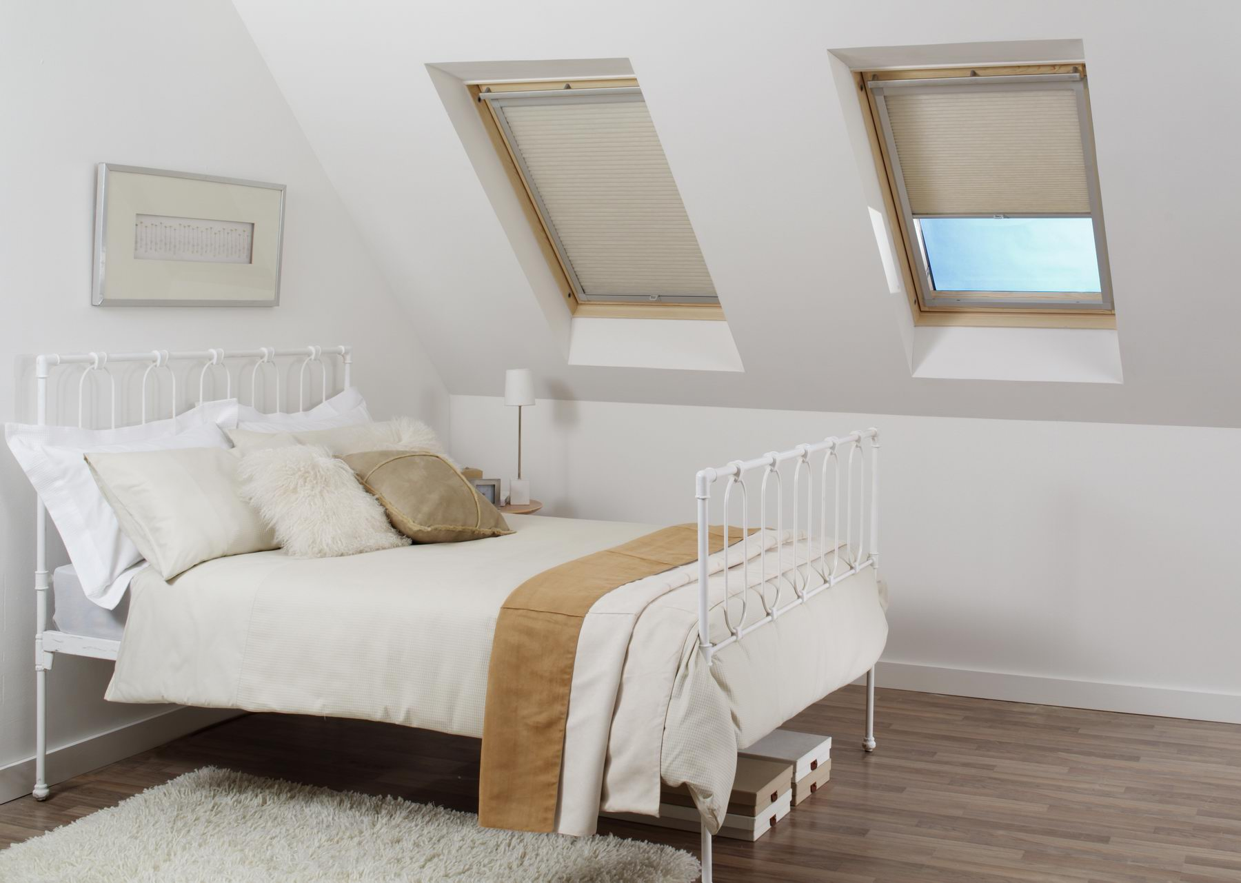 attic bedroom conversion design ideas - Plisy Rolety Rzymskie Ząbki Firany Ząbki